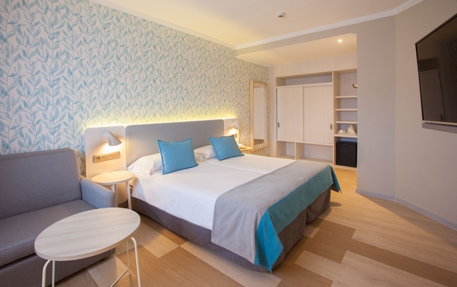Double economy room abora continental by lopesan hotels gran canaria