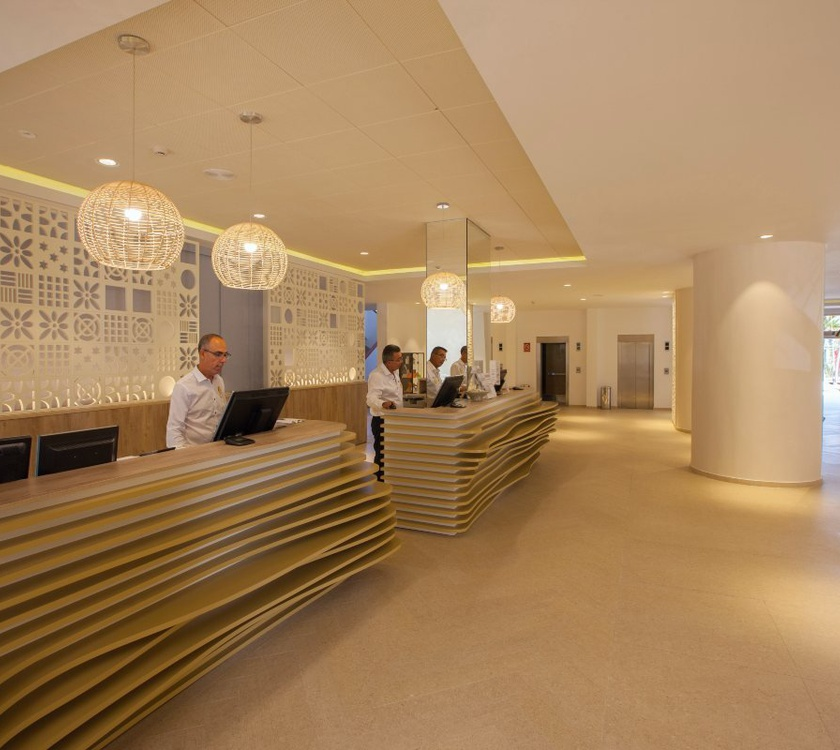 Reception abora continental by lopesan hotels gran canaria