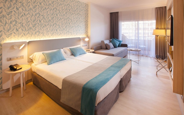 Adapted standard double abora continental by lopesan hotels gran canaria